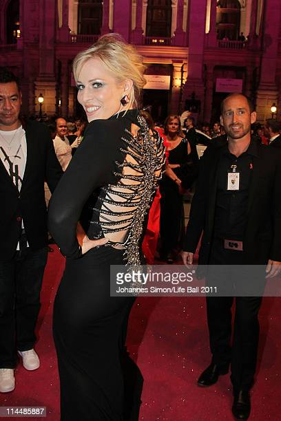Natasha Bedingfield attends the 19th Life Ball at the Town Hall on May 21 2011 in Vienna Austria