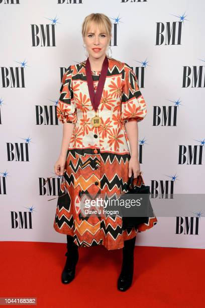 Natasha Bedingfield attends the BMI Awards at The Dorchester on October 1 2018 in London England