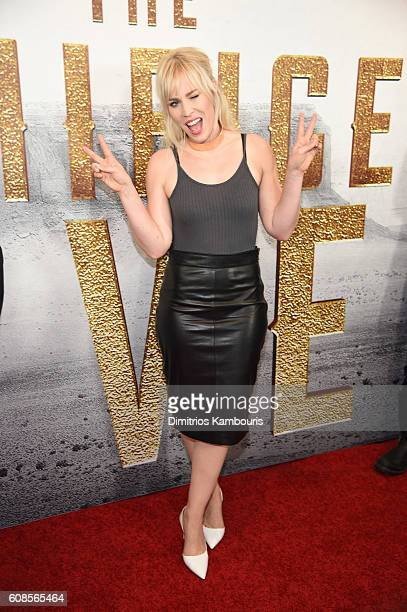 Natasha Bedingfield attends The Magnificent Seven premiere at Museum of Modern Art on September 19 2016 in New York City