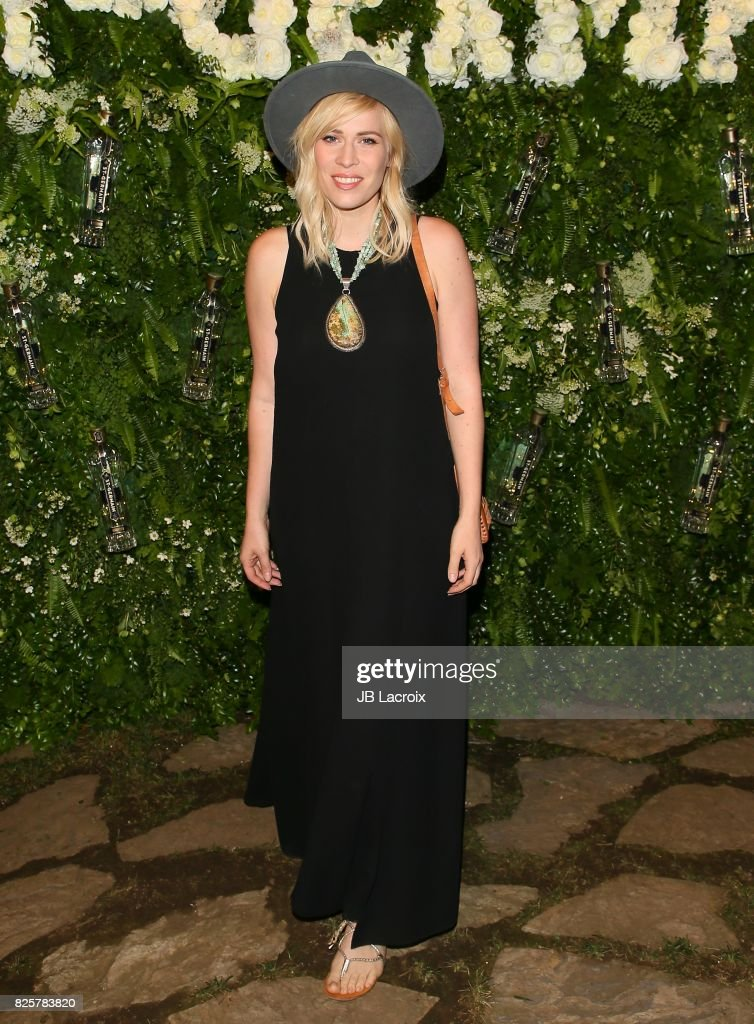 Natasha Bedingfield attends the Maison St-Germain LA Debut hosted by Lily Kwong on August 02, 2017 in Los Angeles, California.