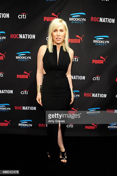 Natasha Bedingfield attends the Roc Nation Grammy Brunch 2015 on February 7 2015 in Beverly Hills California