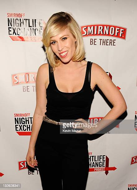 Natasha Bedingfield attends The Smirnoff Nightlife Exchange Project With Madonna at Roseland Ballroom on November 12, 2011 in New York City.