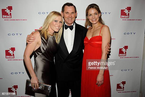 Natasha Bedingfield Bernd Beetz and Katharina Harf attend The 2nd Annual DKMS Linked Against Leukemia Gala at Capitale on May 7 2008 in New York City