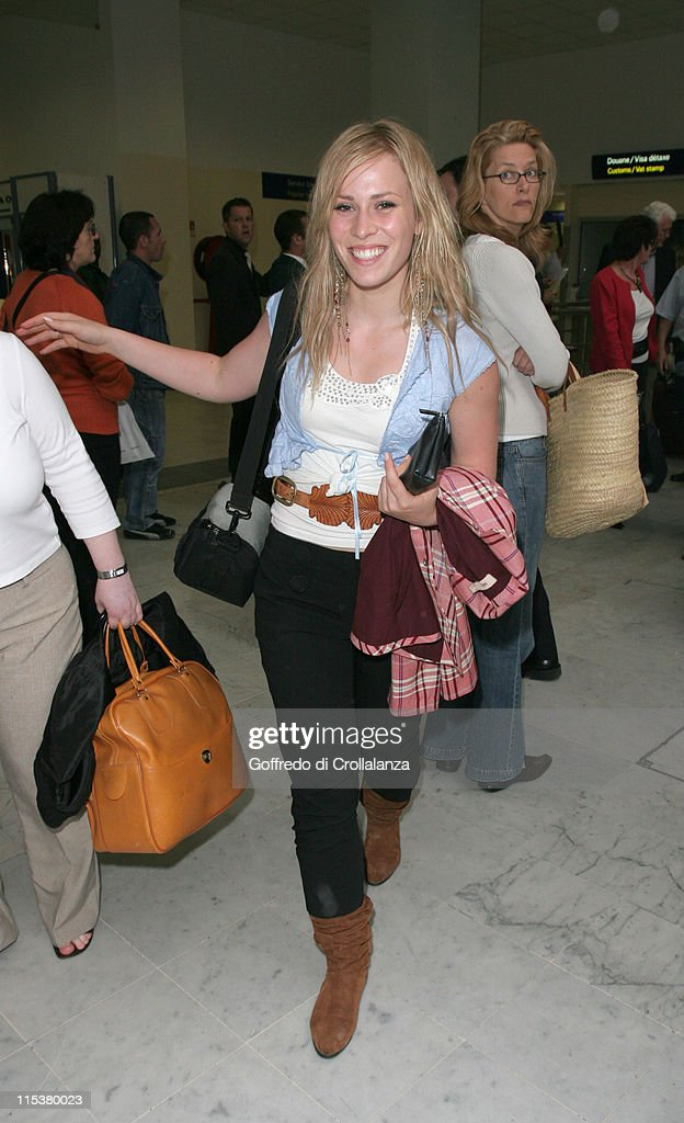 2005 Cannes Film Festival - Celebrity Arrivals at Nice Airport - Day 4