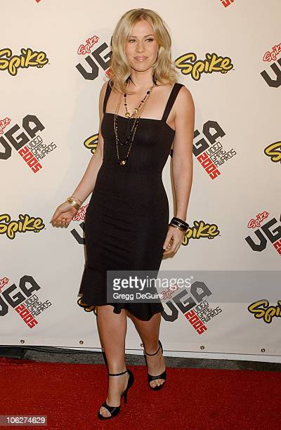 Natasha Bedingfield during 2005 Spike TV Video Game Awards Arrivals at Gibson Amphitheater in Universal City California United States