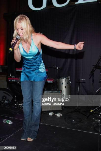 Natasha Bedingfield during Guess 25th Anniversary with Performances by Natasha Bedingfield and KT Tunstall at Capitale in New York City, New York,...