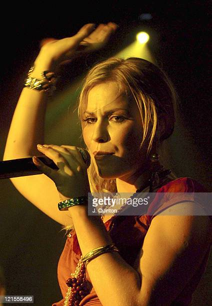 Natasha Bedingfield during Natasha Bedingfield Performs a Live Streamed Gig for Mobile Phone Company 3 at The ICA in London Great Britain
