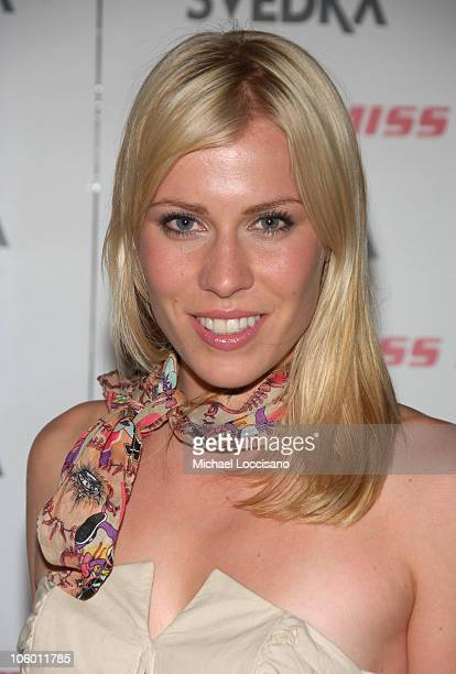 Natasha Bedingfield during Olympus Fashion Week Spring 2007 Miss Sixty After Party at The Soho Grand in New York City New York United States