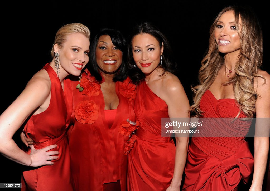 Natasha Bedingfield, Patti LaBelle, Ann Curry and Cat Deeley attend the Heart Truth's Red Dress Collection 2011 during Mecerdes-Benz fashion week at The Theatre at Lincoln Center on February 9, 2011 in New York City.