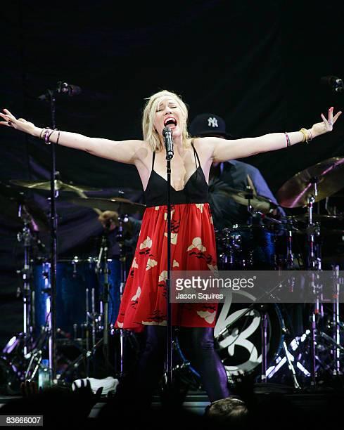 Natasha Bedingfield performs at Sprint Center on November 11 2008 in Kansas City Missouri