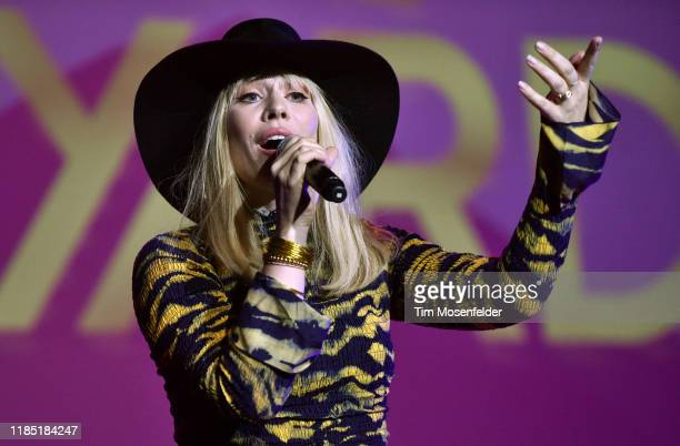 Natasha Bedingfield performs during the 2019 Live in the Vineyard at the Uptown Theatre on November 02 2019 in Napa California