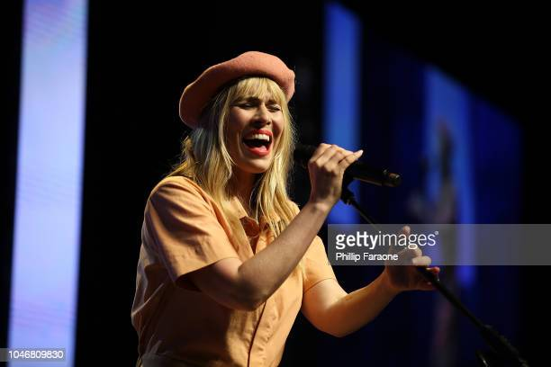 Natasha Bedingfield performs onstage during the Wellness Your Way Festival at Duke Energy Convention Center on October 6 2018 in Cincinnati Ohio