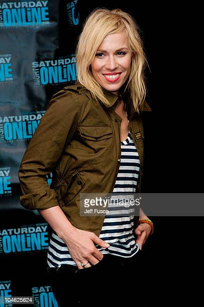 Natasha Bedingfield poses at radio station Q102's Studio Q on October 1, 2010 in Philadelphia, Pennsylvania.