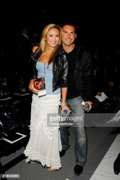Natasha Bessez and Ian Gerard attend Richie Rich 2011 Fashion Show at The Studio at Lincoln Center on September 9 2010 in New York City