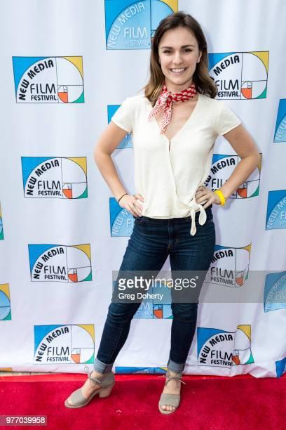 Natasha Blass attends the 9th Annual New Media Film Festival at James Bridges Theater on June 16 2018 in Los Angeles California