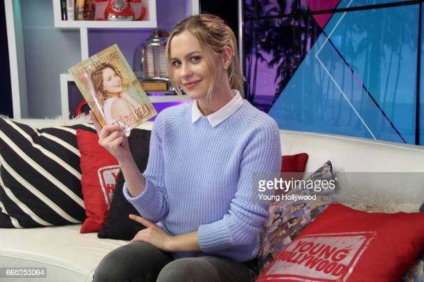 Natasha Bure visits the Young Hollywood Studio on April 5 2017 in Los Angeles California
