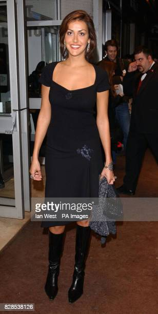 Natasha Caine arrives at the premiere of her father Sir Michal Caine's new film 'The Quiet American' at the Odeon West End cinema in London's...