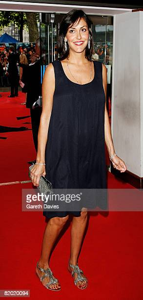 Natasha Caine, daughter of actor Michael Caine, arrives at the European film premiere of 'The Dark Knight' at the Odeon Leicester Square on July 21,...