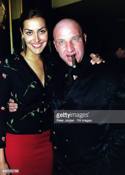 Natasha Caine, daughter of actor Michael Caine, with Dave Courtney, a friend of the Kray Twins, at the Cafe De Paris launch party for the opening of...
