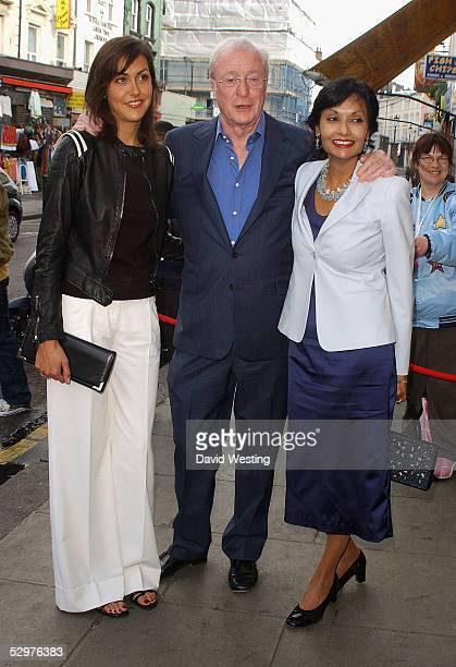 Natasha Caine Michael Caine and his wife Shakira Caine arrive at The Grand Classics Casablanca private VIP screening at The Electric Cinema on May 24...