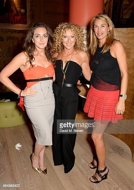 Natasha Corrett Kelly Hoppen and Anastasia Webster attend the Red magazine Women of the Year awards at Ham Yard Hotel on September 3 2014 in London...