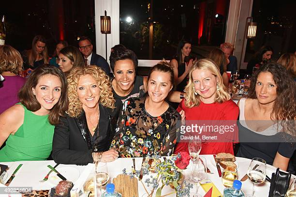 Natasha Corrett Kelly Hoppen Dame Kelly Holmes Yasmin Le Bon Red Magazine editor Sarah Bailey and Lulu Kennedy attend the Red Women of the Year...