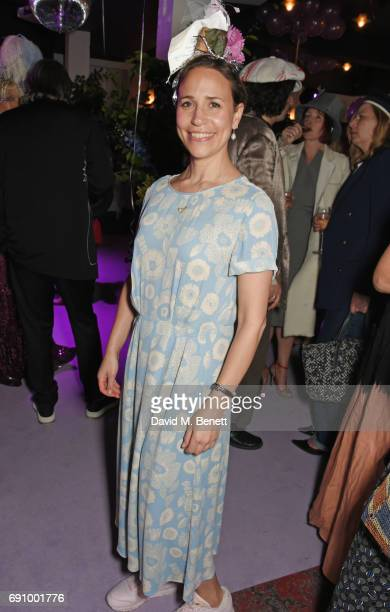 Natasha Cowan attends Stephen Jones 100th Birthday gala dinner celebrating his 60th birthday and 40 years in millinery at Bistrotheque on May 31 2017...