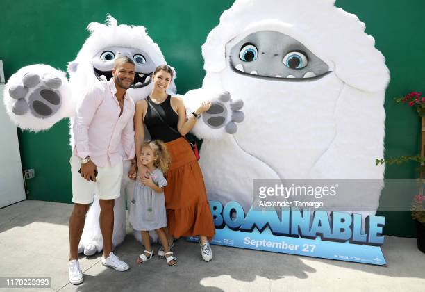 Natasha Dominguez and her family are seen at the Abominable Brunch Party hosted by Ana Patricia Gámez at Palmar Wynwood on September 22 2019 in Miami...