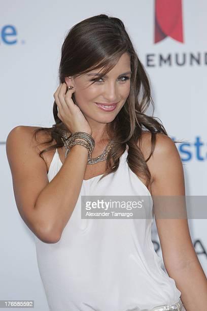 Natasha Dominguez attends Telemundo's Premios Tu Mundo Awards at American Airlines Arena on August 15 2013 in Miami Florida