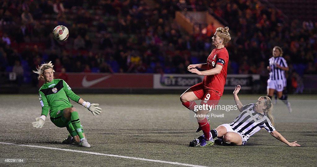Liverpool Ladies v Notts County Ladies: Continental Cup Semi-Final : Nachrichtenfoto