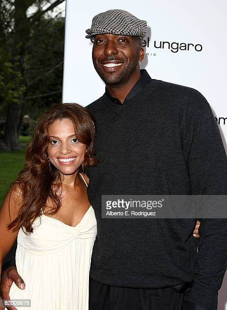 Natasha Duffy and former NBA player John Salley arrive at the 10th Annual DesignCure Benefit for the HollyRod Foundation held at a private estate on...