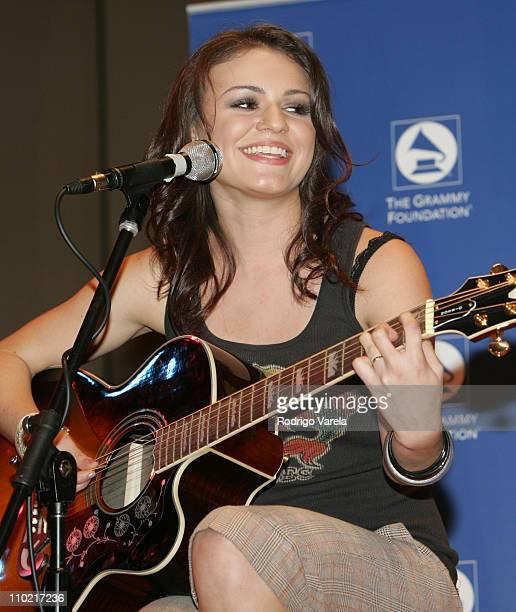 Natasha during JD Natasha Performs at Grammy Career Day at University of Miami in Miami, Florida, United States.