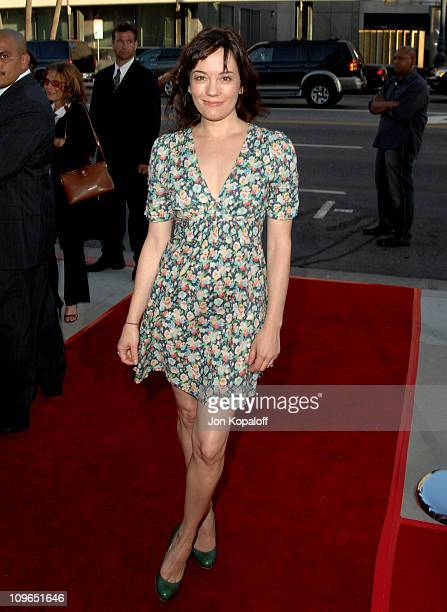 Natasha Gregson Wagner during Sicko Los Angeles Premiere Arrivals at Academy Of Motion Picture Arts Sciences in Beverly Hills California United States