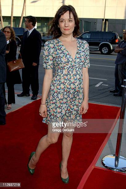 Natasha Gregson Wagner during Sicko Los Angeles Premiere Arrivals at Academy Theatre in Beverly Hills California United States