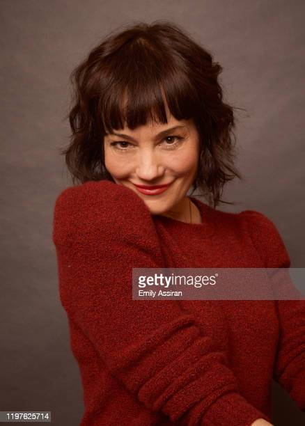 Natasha Gregson Wagner from Natalie Wood What Remains Behind poses for a portrait at the Pizza Hut Lounge on January 26 2020 in Park City Utah