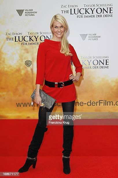 Natasha Grün In The German premiere of The Lucky One In Cinestar at Potsdamer Platz in Berlin