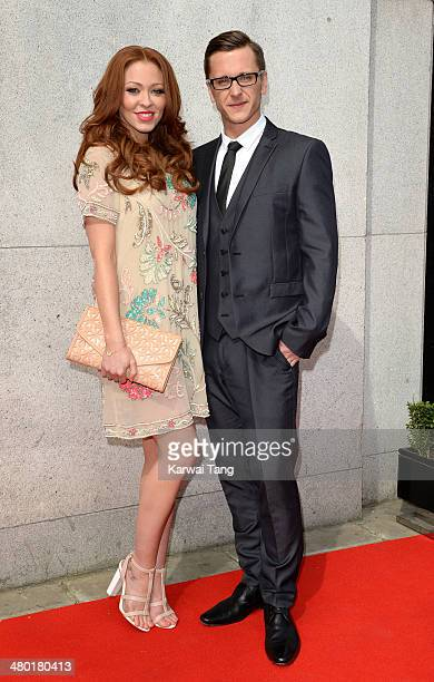 Natasha Hamilton and Ritchie Neville attend the Tesco Mum of the Year awards at The Savoy Hotel on March 23 2014 in London England