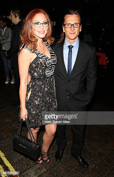 Natasha Hamilton and Ritchie Neville attending the Specsavers 'Spectacle Wearer of the Year' party on October 6 2015 in London England