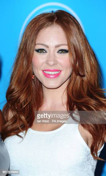 Natasha Hamilton arriving at the Arqiva Commercial Radio Awards held at the Westminster Bridge Park Plaza Hotel London
