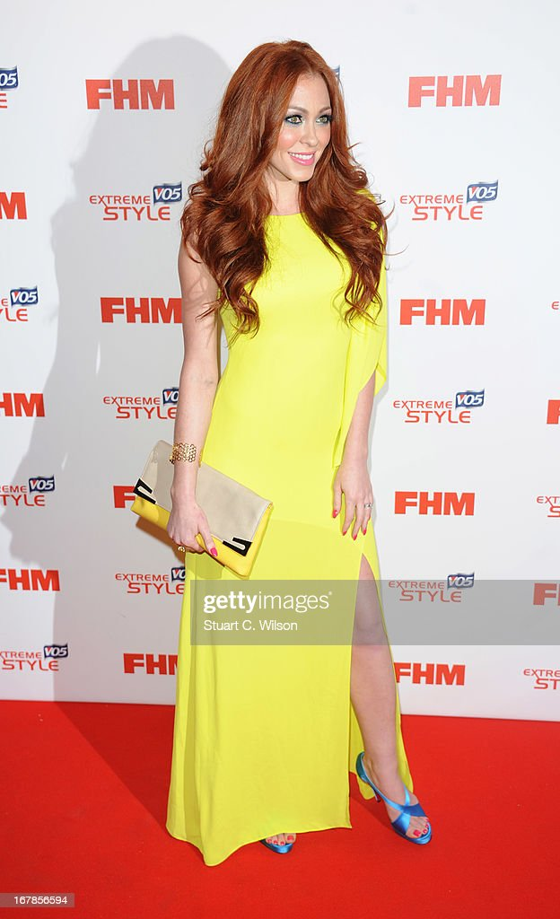 Natasha Hamilton attends the FHM 100 Sexiest Women In The World 2013 Launch Party at Sanderson Hotel on May 1, 2013 in London, England.