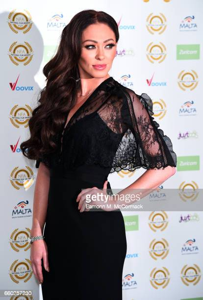 Natasha Hamilton attends the National Film Awards on March 29 2017 in London United Kingdom