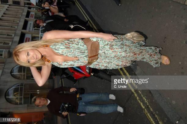 Natasha Hamilton during 118 888 Launch Party at Trap in London Great Britain