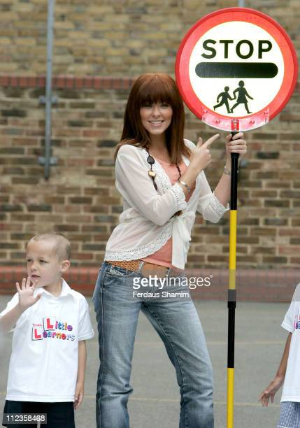 Natasha Hamilton during Natasha Hamilton launches TOTAL Little Learners Campaign at St Matthews School in London Great Britain