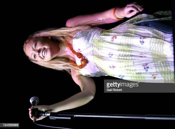 Natasha Hamilton during Natasha Hamilton Performs at The Summer Pops in Liverpool July 13 2005 at The Summer Pops in Liverpool Great Britain
