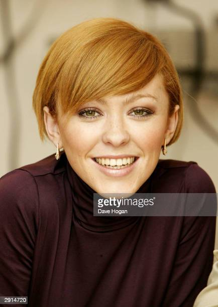 Natasha Hamilton from girl group Atomic Kitten Today they announced the decision to split up at London offices on January 30 2004 in London Natasha...