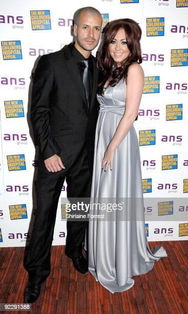 Natasha Hamilton with boyfriend Riad Erraji attend Notte Bella Il Finito fundraising event for The New Children's Hospital Appeal at The Hilton on...