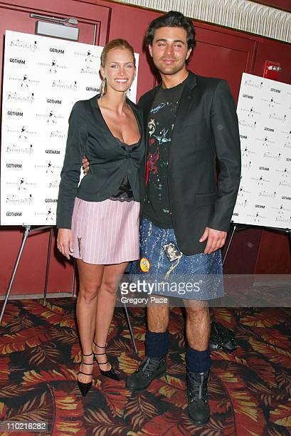 Natasha Henstridge and Darius Danesh during 'Dressed to Kilt' A Scottish Evening of Fashion and Fun Arrivals and Backstage at Copacabana in New York...