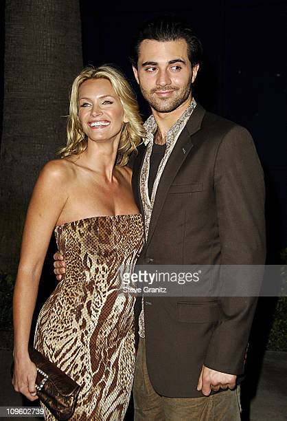 Natasha Henstridge and Darius Danesh during Elevate Hope Foundation Circle of Passion Arrivals at Astra Lounge in West Hollywood California United...