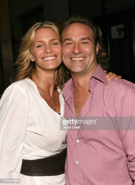 Natasha Henstridge and Paul Alexander during Love Letters to the South Messages of Hope and Healing from the World's Best Loved Celebrities Los...