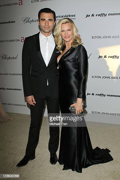 Natasha Henstridge arrives at the 19th Annual Elton John AIDS Foundation Academy Awards viewing party held at Pacific Design Center on February 27...